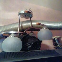 Люстры и потолочные светильники - Большая люстра для зала, 0
