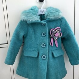 Пальто и плащи - Пальто утепленное шерстяное Born на 1-2 г., 0