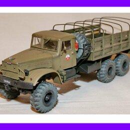Сборные модели - 1/35 продажа модели автомобиля Краз 214Б СССР 1960, смоляные колеса, 0