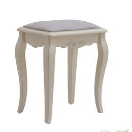 Пуфики - Пуфик с мягким сиденьем айвори 45 см Belveder, 0