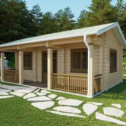 Готовые строения - Готовый дом или баня из профилированного или клеенного бруса проект LH 400, 0