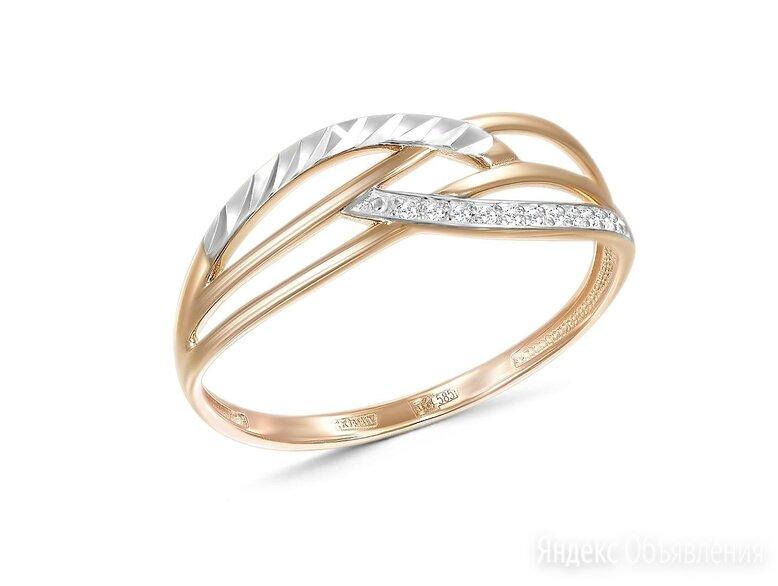 Кольцо с 11 бриллиантами из красного золота по цене 7190₽ - Комплекты, фото 0