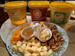 Продукты - Мёд липовый, гречишный башкирский, 0