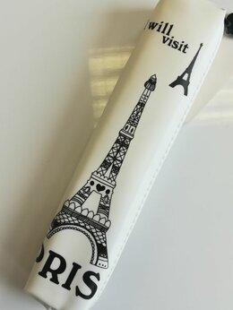 Косметички и бьюти-кейсы - Пенал-косметичка силиконовый Эйфелева башня…, 0