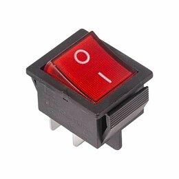 Аксессуары и запчасти - Микровыключатели, переключатели REXANT Выключатель клавишный 250В 15А (4с) ON..., 0