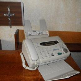 "Факсы - Телефон-факс ""Panasonic KX-FM131"" для интерьера., 0"