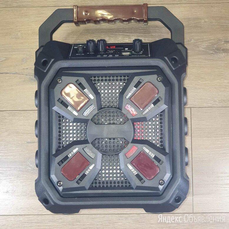 Портативная миди-система с Bluetooth А2DP, AUX, FM по цене 2690₽ - Портативная акустика, фото 0