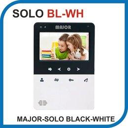 Домофоны - Видеодомофон MAJOR SOLO BLACK-WHITE., 0