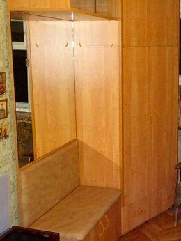 Шкафы, стенки, гарнитуры - Угловой плательный шкаф для прихожей с зеркалом, 0