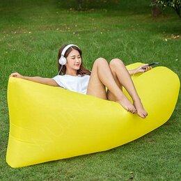 Походная мебель - Надувной диван LamzacФрут (Ламзак) желтый, 0