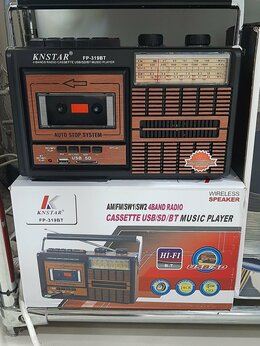 Радиоприемники - Fp-319Bt радио, 0