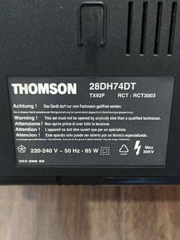 Телевизоры - Телевизоо не работающий TX92F, RCT3003 Thomson…, 0