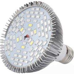 Лампочки - Фитолампа для растений полного спектра в алюминиевом корпусе 50 Вт, 0