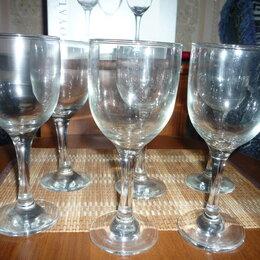 Бокалы и стаканы - Бокалы новые 6 шт., 0