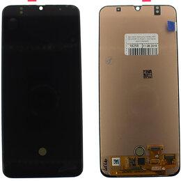 Дисплеи и тачскрины - Дисплей Samsung Galaxy A50 SM-A505F в сборе с сенсором, ориг черный, 0