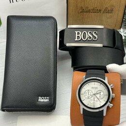 Подарочные наборы - Подарочный набор для мужчин Boss. Натуральная кожа, 0
