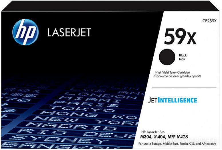 Картридж лазерный HP 59X CF259X черный (10000стр.) для HP LJ M304/M404/MFP M428 по цене 18252₽ - Картриджи, фото 0