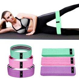 Аксессуары - Набор тканевых резинок для фитнеса 3в1 luting fit, 0