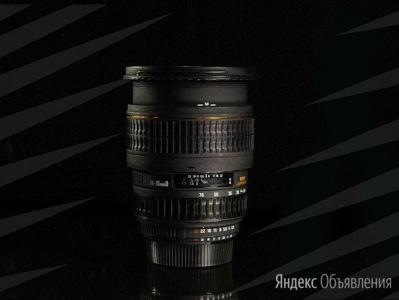 Sigma AF 24-70 mm 2.8 for Nikon // 0738 📷  по цене 13900₽ - Объективы, фото 0
