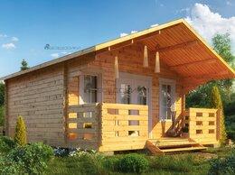 Готовые строения - Садовый домик  из мини бруса5×6 «Витражный», 0