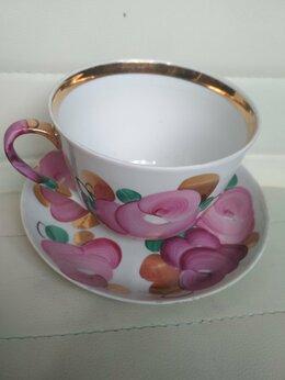Кружки, блюдца и пары - Чашка с блюдцем, подарочная (подарок для мужчины?), 0