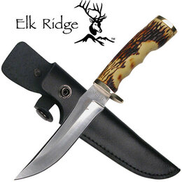 Ножи и мультитулы - Нож Elk Ridge коллекционный оригинал в ножнах, 0