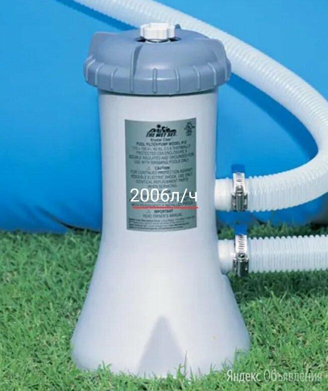 Фильтр насос для бассейна по цене 3650₽ - Прочие аксессуары, фото 0