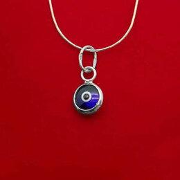 Кулоны и подвески - Кулон глаз из серебра и эмали, 0