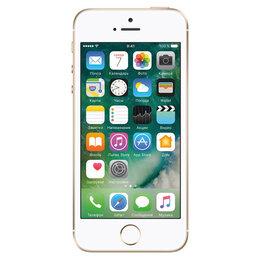Мобильные телефоны - 🍏 iPhone SE 16Gb gold (золотой), 0