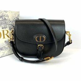Сумки - Женская сумка Christian Dior Bobby через плечо черная Премиум кожа новая , 0