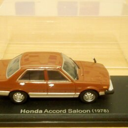 Модели - Honda Accord Saloon (1978) - Ebbro, Scale 1:43, 0