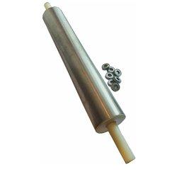 Скалки - скалка для раскатки теста 40-10см с подшипниками, 0