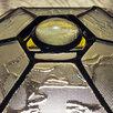 Сферический шестигранный ночник из витражного стекла. по цене 11000₽ - Ночники и декоративные светильники, фото 6