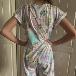 Домашняя одежда - Пижама-комбез для подростка, 0