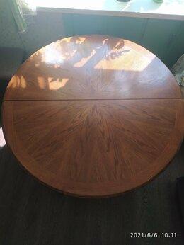Столы и столики - Стол круглый из массива дерева, 0