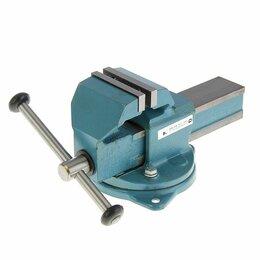 Тиски - Тиски слесарные стальные, поворотные: 100-150…, 0