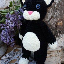 Мягкие игрушки - Игрушка вязаная кот Феликс, 0