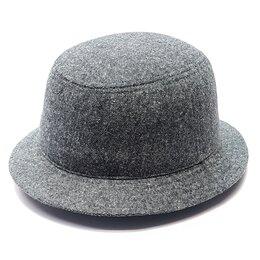 Головные уборы - Шляпа панама мужская демисезонная (серый), 0