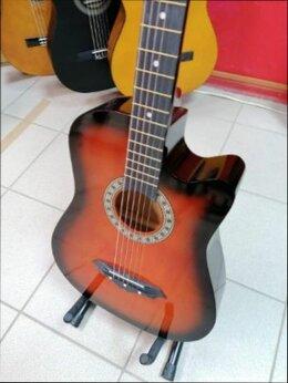 Акустические и классические гитары - Акустическая Новая гитара Санберст, 0