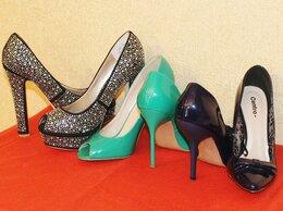 Туфли - Туфли  женские  на  шпильке, 0