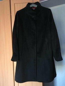 Пальто - Шерстяное пальто женское 44-46, 0