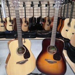 Акустические и классические гитары - Новые акустические гитары Yamaha FG800 (два цвета), 0