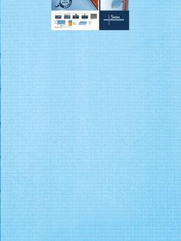 Подложка - Подложка листовая Синий лист 1000х500х 5 мм, 0