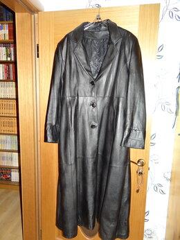 Пальто - Пальто женское кожаное 50-54 Италия, 0