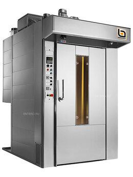 Жарочные и пекарские шкафы - Печь ротационная Bassanina Rotor 68 газ, платформа, 0