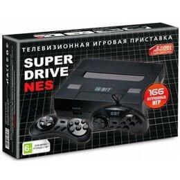 Ретро-консоли и электронные игры - Sega Super Drive NES-9V-166  Black box, 0