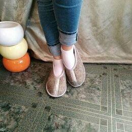 Домашняя обувь - Тапочки из овечьей шерсти. , 0