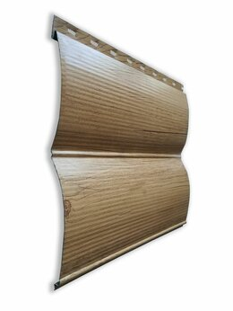 Сайдинг - Сайдинг металлический Бревно 0,365 х 3 м светлое…, 0