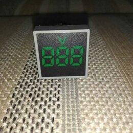 Измерительные инструменты и приборы - Вольтметр , 0