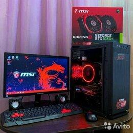 Настольные компьютеры - Игровые Компьютеры Курск Ryzen 5 1600 1050ti 4gb, 0